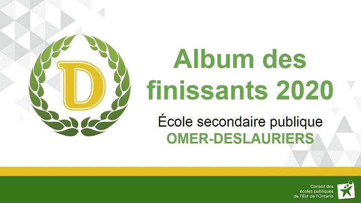 Album des finissants 2020